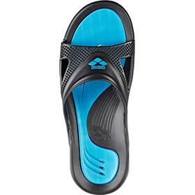 arena Hydrofit Hook Sandals Men black-turquoise